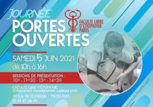 Journée portes ouvertes Faculté libre d'étiopathie de Paris Devenir étiopathe